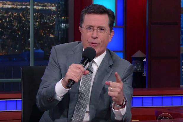Stephen Colbert slams Donald Trump over graphic comments about women