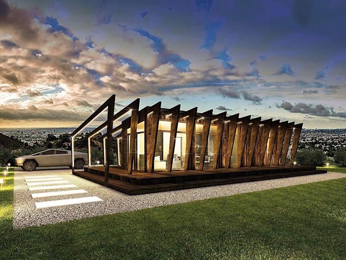 A stunning Prefabricated Modular House from Cliff.
