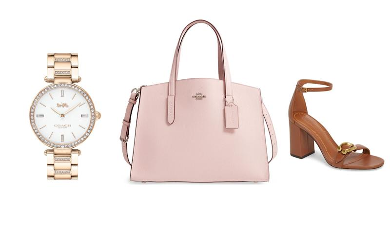 909bb9a7c7f Nordstrom shoppers can save up to 50 percent off on Coach handbags, shoes  and watches