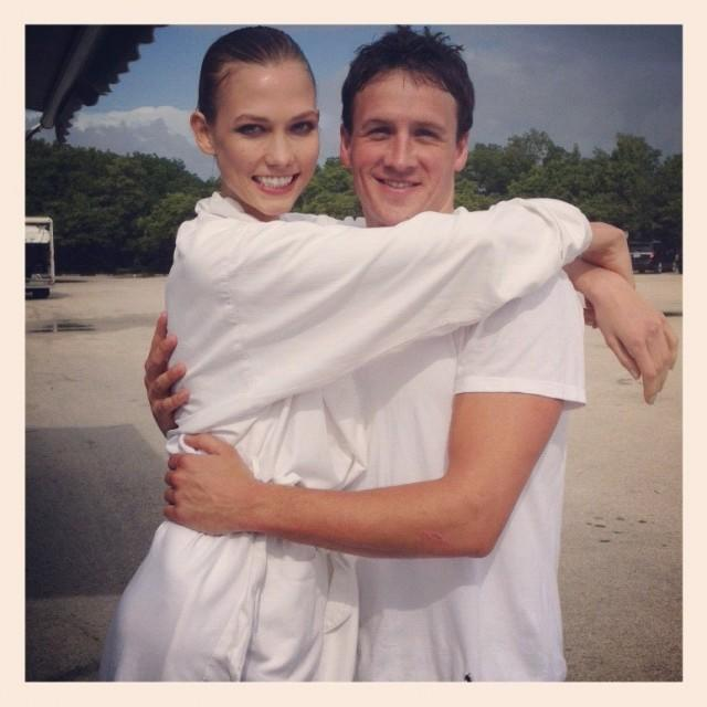 Karlie Kloss and Ryan Lochte BFF's forever
