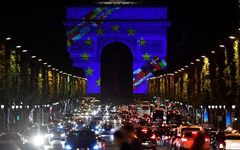 Eurozone economic growth has cooled from last year's boom - AFP