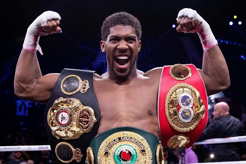 Anthony Joshua: Getty Images