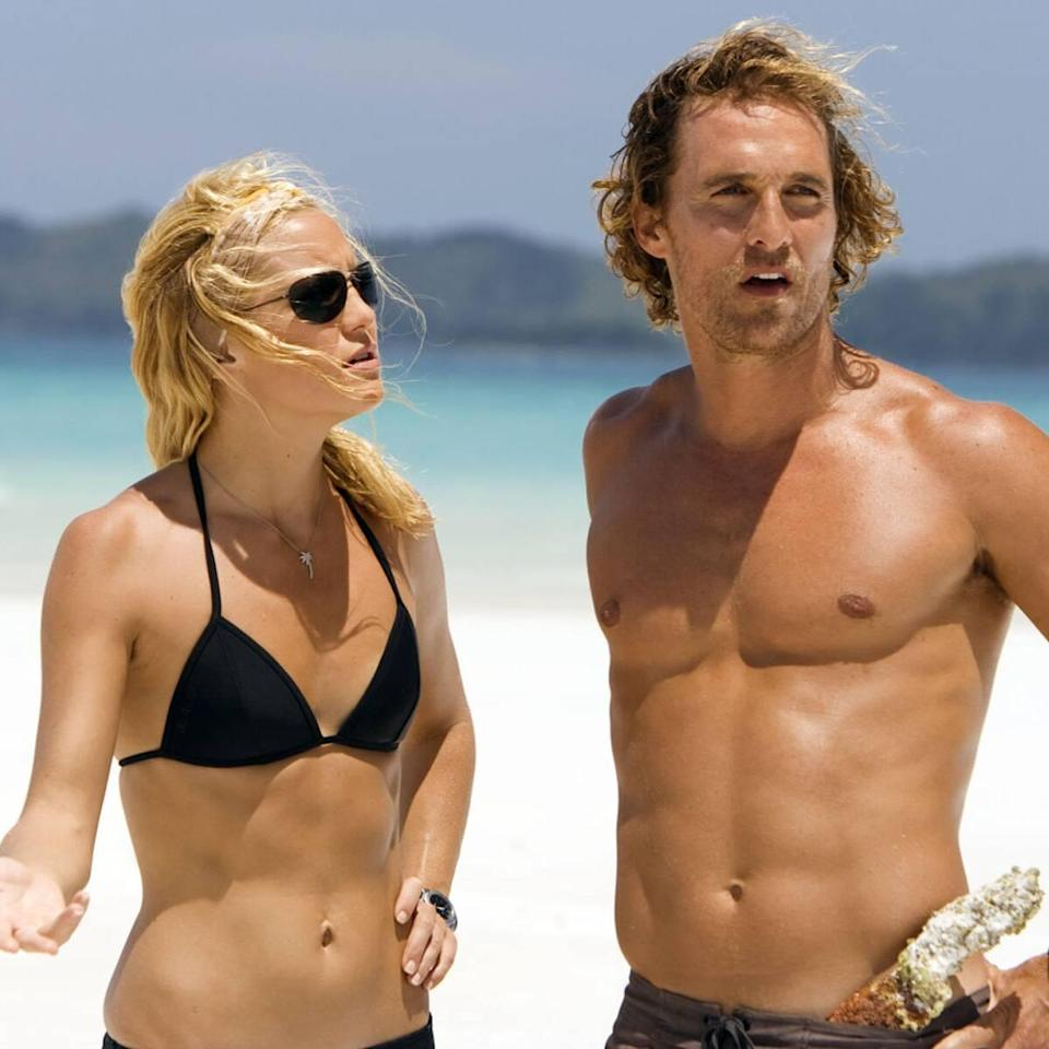 Matthew McConaughey Defends Himself After Kate Hudson Calls Out Their Disastrous Onscreen Kiss