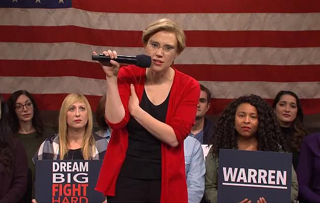 SNL tackles Elizabeth Warren's Medicare-for-all plan in cold open