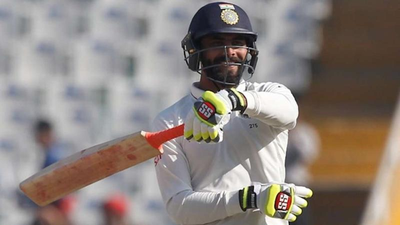 Watch: Ravindra Jadeja Celebrates After Scoring a Half-Century