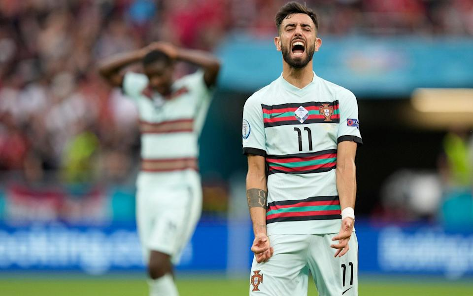 After 83 games and counting in a year - is Bruno Fernandes too tired to inspire Portugal at Euro 2020? - SHUTTERSTOCK