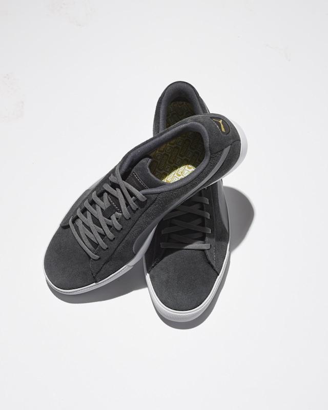 "<p>An ode to the classic Puma Suede shoe, redesigned for the golf course. The street-style design is on-trend and the hidden traction performs great.</p> <p><strong><a href=""https://www.golfgalaxy.com/p/puma-mens-suede-g-shoes-18pummsdgblckxxxxgsh/18pummsdgblckxxxxgsh?camp=CSE:GGXY_pg33126_ecom_PLA_455&gclid=EAIaIQobChMI6czx3sWZ2wIVEF8NCh2gnQ5yEAQYAiABEgKHf_D_BwE"" rel=""nofollow noopener"" target=""_blank"" data-ylk=""slk:SHOP NOW"" class=""link rapid-noclick-resp"">SHOP NOW</a></strong></p>"