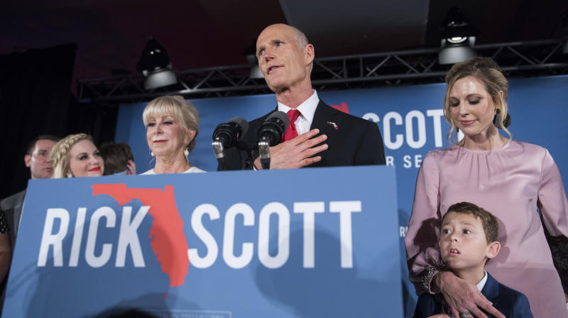 Florida Senate Race Headed Toward Recount