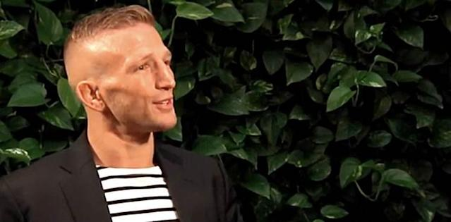 TJ Dillashaw - UFC Brooklyn Pre-Fight Luncheon