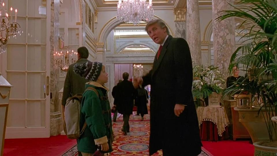 Donald Trump in Home Alone 2 (20th Century Fox)