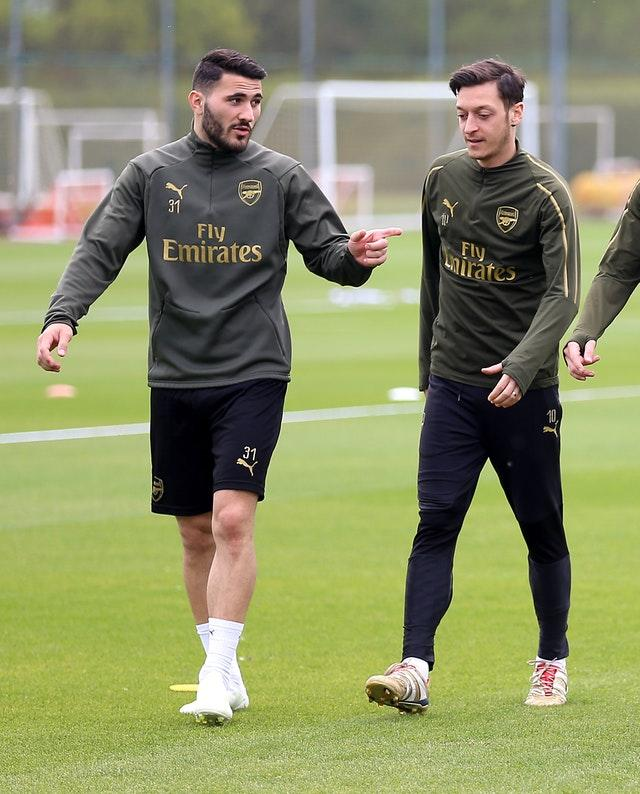 Kolasinac and Ozil escaped unharmed and police are investigating