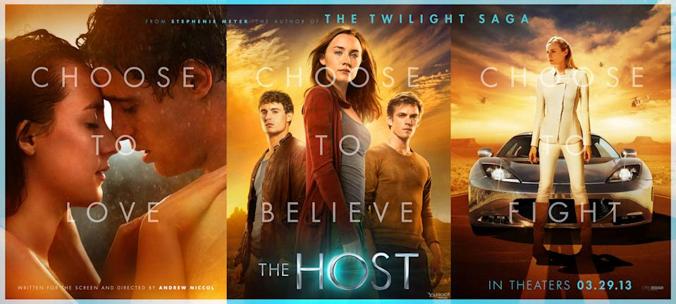 "Saoirse Ronan, Max Irons, Jake Abel, and Diane Kruger star in Open Road Films' ""The Host,"" based on the novel by Stephenie Meyer - 2013"