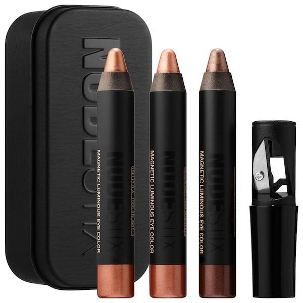 <p>They'll make a statement with bold eyes using the <span>Nudestix Nude Metallics For Eyes</span> ($25).</p>