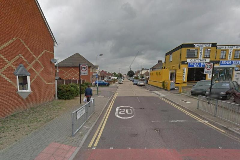 Crash: A man has died after an alleged hit-and-run: Google Street View
