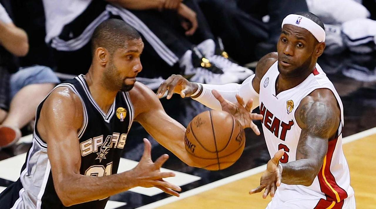 """<p>For nearly a decade, the Eastern Conference playoffs have been defined by a tell. They might appear to lean toward an established powerhouse (like the superteam Celtics), a well-balanced bruiser (like the defensive Pacers), or even a system-driven epiphany (like the emergent Hawks) for a moment, but each of the last seven playoffs has eventually given way to LeBron James. There comes a point when enough is enough; just as the narrative of the postseason begins to turn against him, LeBron follows through with Herculean efforts in the face of elimination. Being down 3-2 seems oddly clarifying for him. Being down 3-1, as the Cavs were in the 2016 Finals, is less a death knell than a call to action. </p><p>There is an air of inevitability to a player who makes seven consecutive trips to the Finals, and yet every ticket was fully earned. Every LeBron team has faced its trials. What separates him from the other superstars of his era is how often those trials are conquered, to the point that the current Cavs now find their most dramatic tension within. How closely they'll compete with the Warriors in this year's championship series depends largely on Cleveland's relationship with its most productive habits. Every series previous was merely a training ground. LeBron beat the Big 3 Celtics into a rebuild. He almost single-handedly dissolved the Pacers. James crushed the best chance of the Derrick Rose Bulls and kept the Hawks at such a rigid arm's length that they were forced to move on. The Raptors, who could lose Kyle Lowry and Serge Ibaka in free agency, might soon join the list. The transcendent power of LeBron in these last seven years is evident not only in his wins, but in how he's dismantled those Eastern Conference teams fighting to be his rival and deterred other franchises from even trying. If LeBron's path to the Finals seems easier than ever, that's at least partially because he made it so. """"The Chosen One"""" became the subject of yet another self-fulfilling pr"""