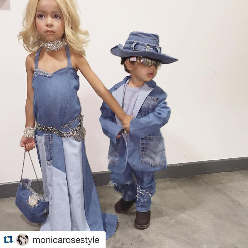 284eebc48d4 Britney Spears and Justin Timberlake s Iconic Matching Denim Outfits ...