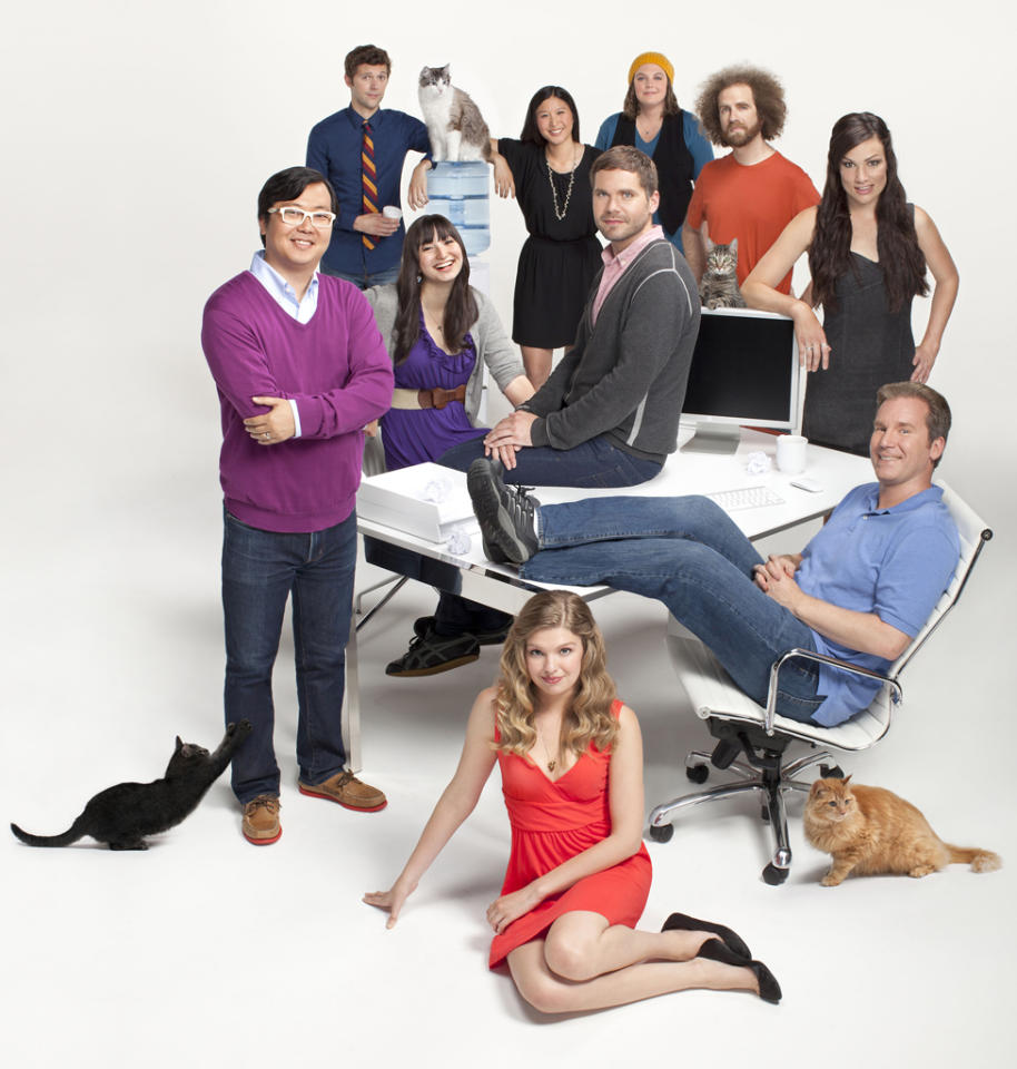 "The cast of Bravo's ""LOLwork."""