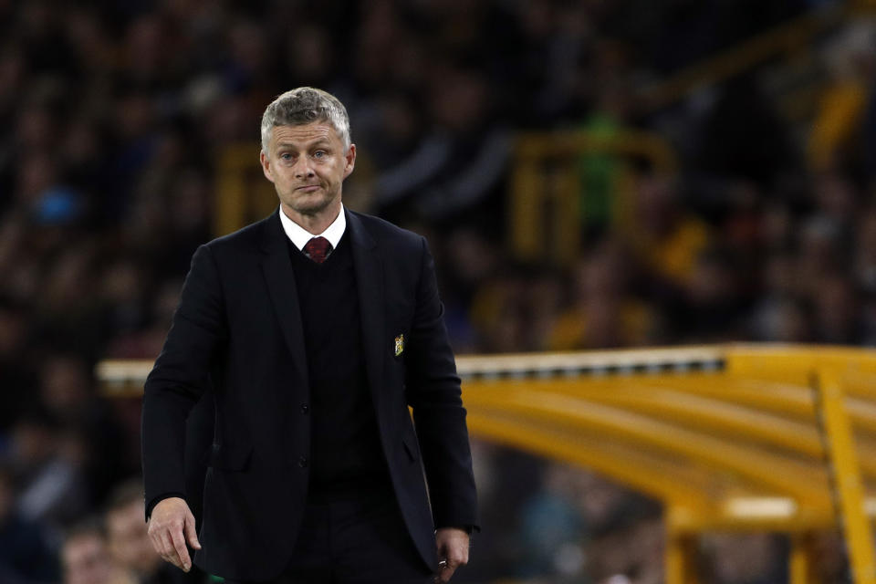 Ole Gunnar Solskjaer still has his job with Manchester United despite troublesome results, as do several bosses at other big clubs. (AP)