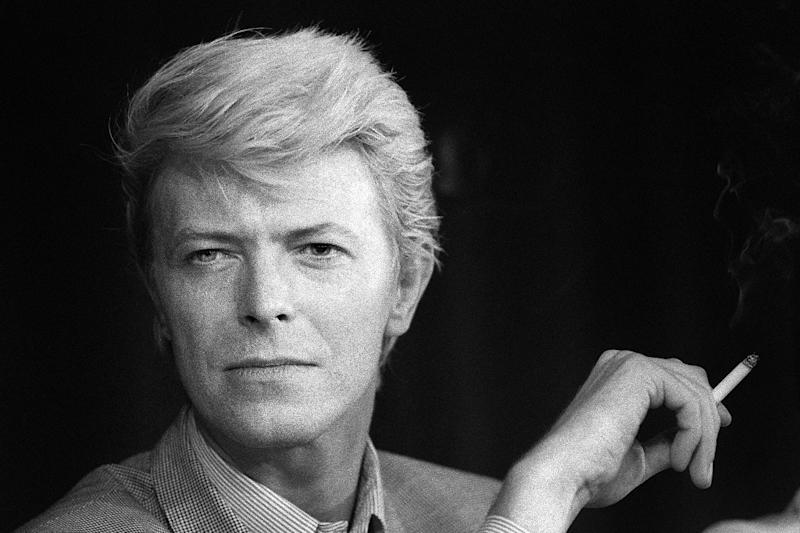 British singer David Bowie created an astonishing array of stage personas, from the sexually ambiguous Ziggy Stardust to the so-called Thin White Duke (AFP Photo/Ralph Gatti)