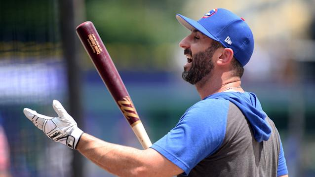 Cubs infielder Daniel Descalso played through ankle injury for most of the season