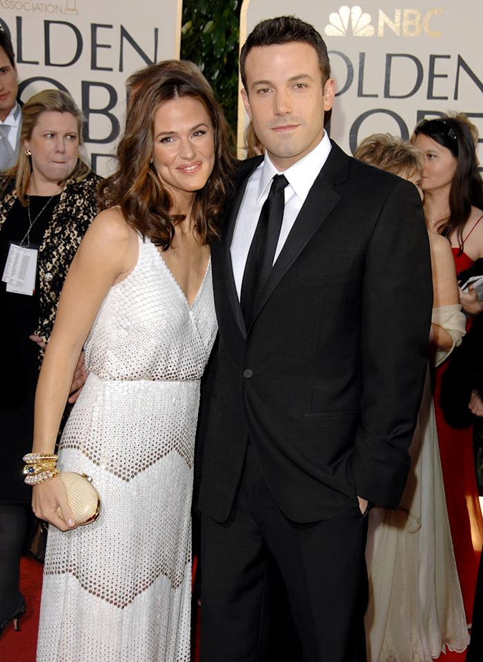 Jennifer Garner and Ben Affleck at the 64th Annual Golden Globe Awards in Beverly Hills - 01/15/2007