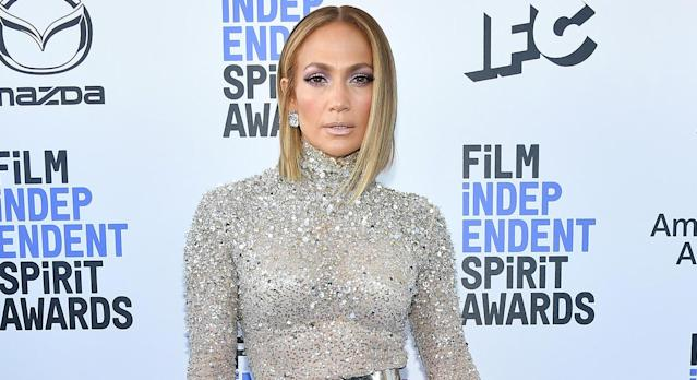 Jennifer Lopez releases new shoe collection with DSW. (Getty Images)