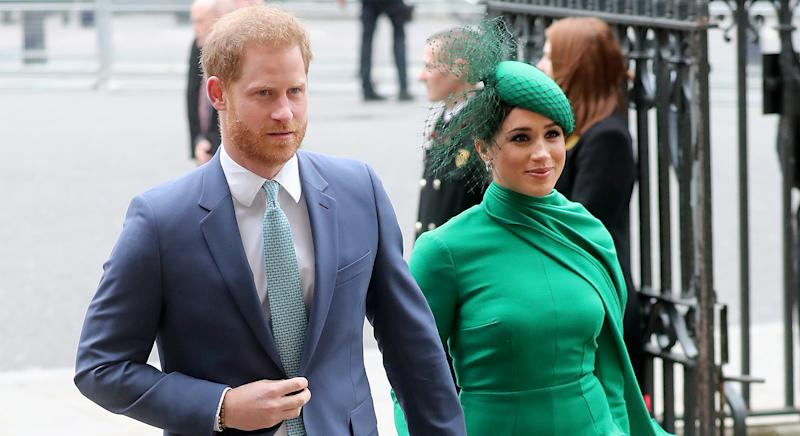Buckingham Palace reacts to Prince Harry, Meghan Markles remarks about United States election