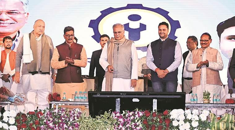 Chhattisgarh, Chhattisgarh news, Chhattisgarh app to connect trained candidates with jobs, trained candidates for jobs, jobs in india, Bhupesh Baghel, Rojgaar Sangi app, indian express