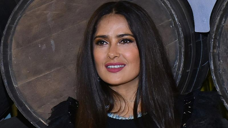 Salma Hayek Fangirls Over Working With Jon Snow on Marvel's 'The Eternals': Pic!
