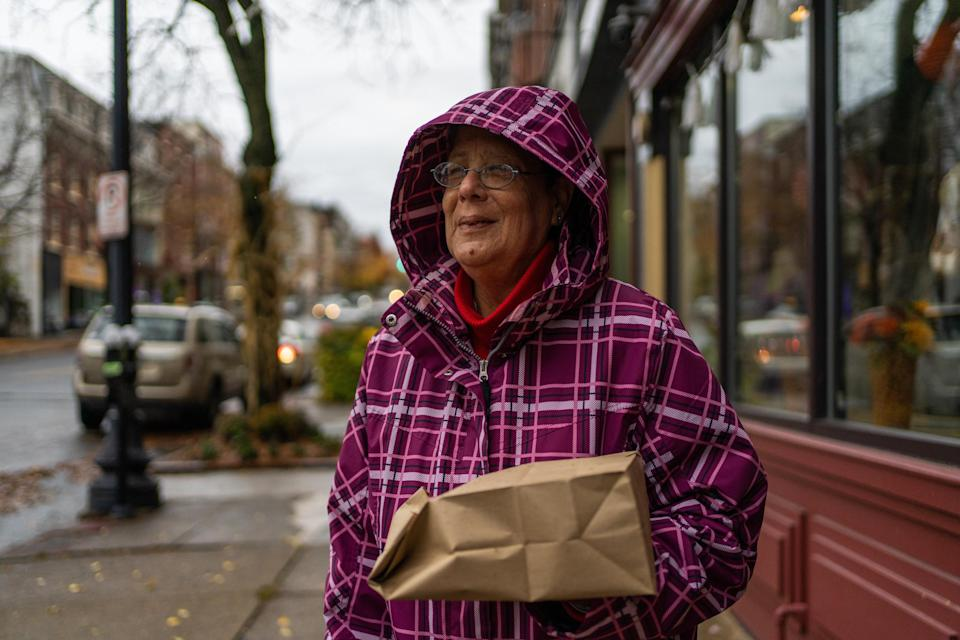 Pam Wagner, 65, in Easton, Pa. (Michael Rubenstein / for NBC News)