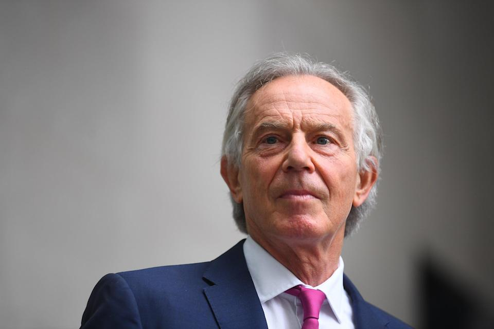 Former prime minister Tony Blair (PA Wire)