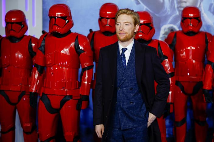 Domhnall Gleeson On Hux In Star Wars The Rise Of Skywalker