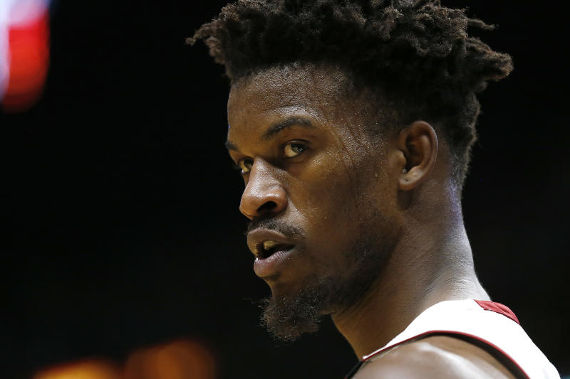Heat coach Erik Spoelstra didn't hold back after Jimmy Butler wasn't named an Eastern Conference All-Star starter. (Michael Reaves/Getty Images)