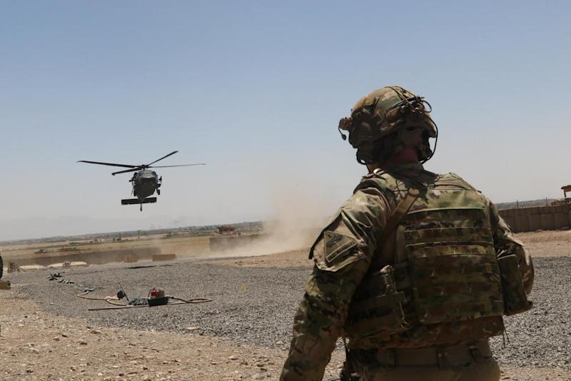US soldier killed in Afghanistan attack, Taliban claim responsibility