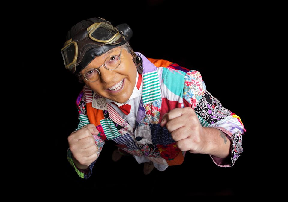 SCARBOROUGH, UNITED KINGDOM - NOVEMBER 12: Roy Chubby Brown  poses during a photo shoot on November 12, 2009 in Scarborough, England. (Photo by sarahphotogirl/WireImage)  *** Local Caption ***