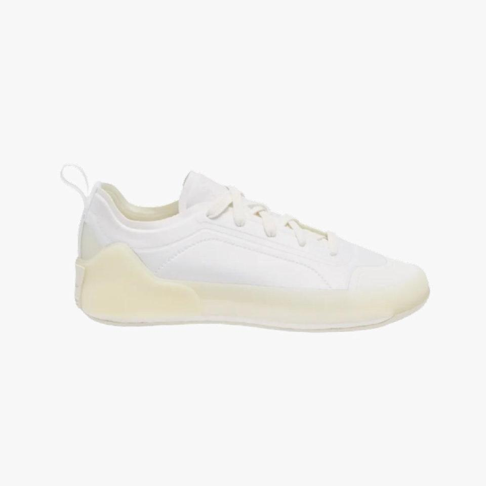 "$180, MATCHESFASHION.COM. <a href=""https://www.matchesfashion.com/us/products/Adidas-By-Stella-McCartney-Treino-recycled-canvas-trainers-1390779"" rel=""nofollow noopener"" target=""_blank"" data-ylk=""slk:Get it now!"" class=""link rapid-noclick-resp"">Get it now!</a>"