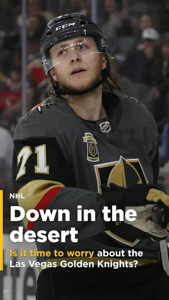 The Vegas Golden Knights have been the best story in the NHL this season, but is the magic starting to wear off?