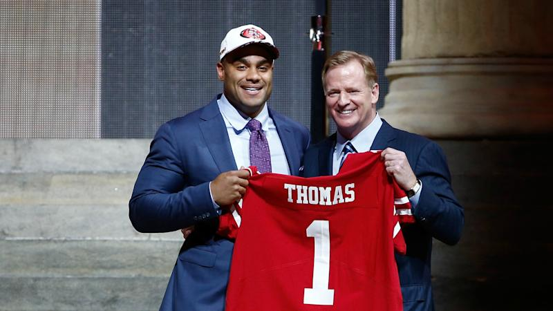NFL Draft grades: Winners and losers of first round, from 49ers to Raiders