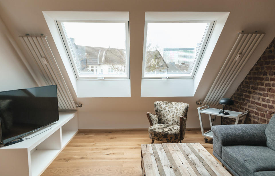 Fitting a room into the loft requires prudence and planning. Photo: Getty