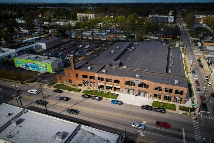 Greyline Station and at the Julietta Market at t101 West Loudon Avenue in Lexington, Ky., Thursday, April 15, 2021. The 65,000-square-foot repurposed bus station is now home to a variety of retail stores, a radio station, restaurants and a market.