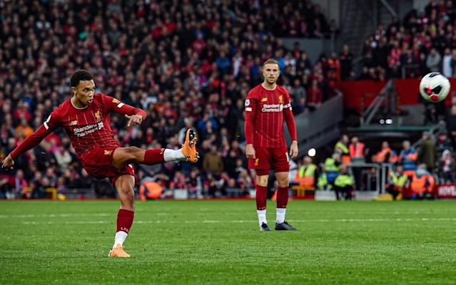 Trent Alexander-Arnold is part of a dying breed: a Premier League player that crosses the ball - Liverpool FC