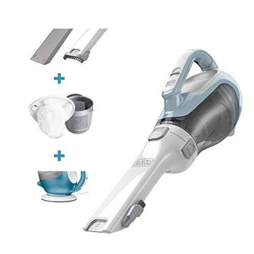 """<p><strong>BLACK+DECKER</strong></p><p>amazon.com</p><p><strong>$49.00</strong></p><p><a href=""""https://www.amazon.com/dp/B006LXOJC0?tag=syn-yahoo-20&ascsubtag=%5Bartid%7C10057.g.36715122%5Bsrc%7Cyahoo-us"""" rel=""""nofollow noopener"""" target=""""_blank"""" data-ylk=""""slk:BUY NOW"""" class=""""link rapid-noclick-resp"""">BUY NOW</a></p><p>For $49, this small handheld vacuum is an affordable option to clean up dust without getting tangled in wires.</p>"""