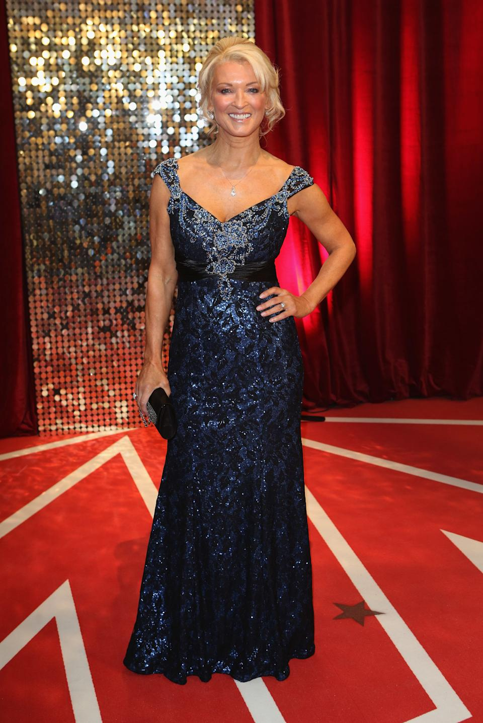 Gillian Taylforth spent 15 years as Kathy Beale in 'EastEnders', though 'Hollyoaks' fans will recognise her as Sandy Roscoe.