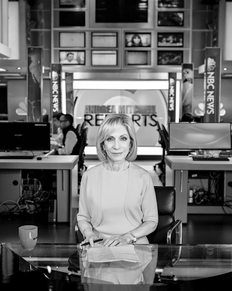 50 Years As a Political Reporter Hasn't Worn Andrea Mitchell