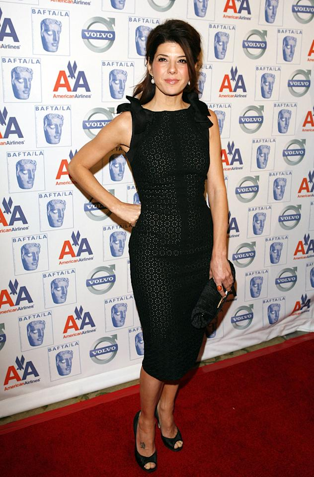 """<a href=""""http://movies.yahoo.com/movie/contributor/1800024659"""">Marisa Tomei</a> at the BAFTA/LA Awards Season Tea Party in Beverly Hills - 01/10/2009"""