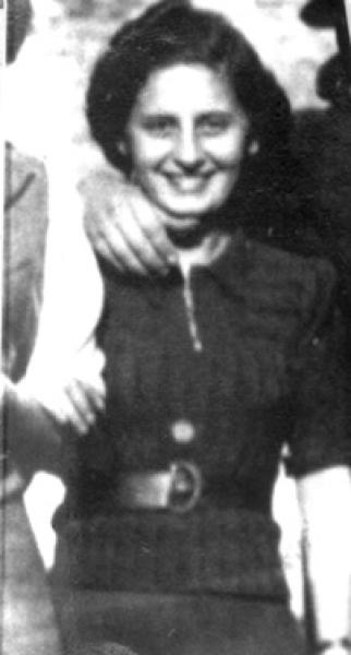 This undated photo provided by Bronia Brandman, shows her older sister Mila Brandman. The sisters were sent to Auschwitz concentration camp but Mila eventually contracted typhus and was marked for the gas chamber. (Bronia Brandman via AP)