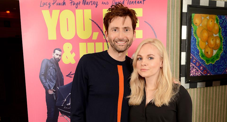 Georgia and David Tennant welcomed their fifth child in October. (Photo by Dave J Hogan/Dave J Hogan/Getty Images)