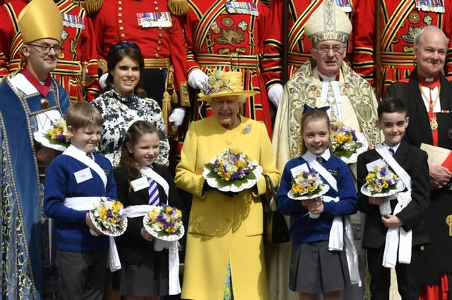Eugenie and the Queen