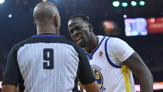 The NBA has fined Draymond Green for criticizing officials on Saturday. (Getty)