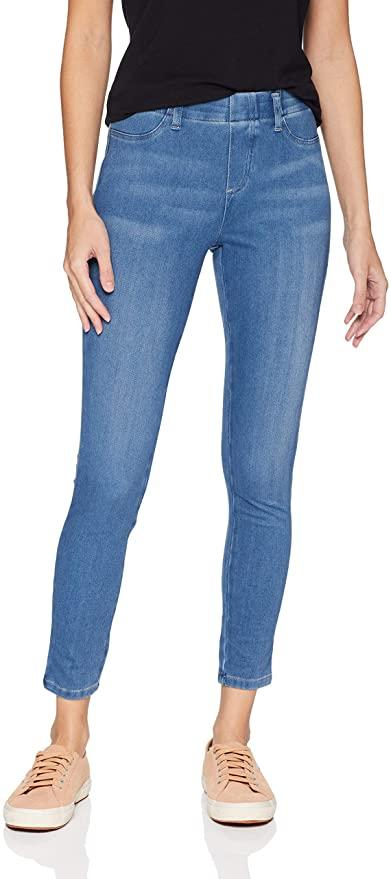 Amazon Essentials Womens Skinny Stretch Pull-on Knit Jegging Pants.